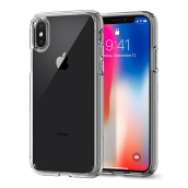 SPIGEN Ultra Hybrid Case for iPhone X - Crystal Clear