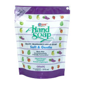 YURI Hand Soap Pouch Grape 375ml