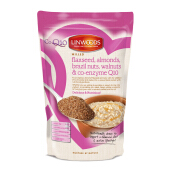 LINWOODS Milled Flaxseed, Almond, Braszil Nuts, Walnuts & Q10 200g