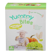 YUMMY BITES Rice Crackers Vegetable Box - 50gr