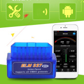 Mini ELM327 OBD2 II Bluetooth Diagnostic Car Auto Interface Scanner