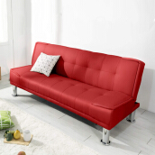THE OLIVE HOUSE - Sofabed Prima Red (FREE ONGKIR JAWA & BALI)