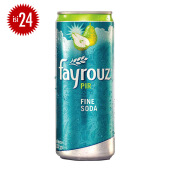 FAYROUZ Pear Sleek Can Carton 330ml x 24pcs