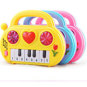 BESSKY Baby Electronic Organ Musical Instrument Birthday Present Kid Wisdom Deveop- Multicolor
