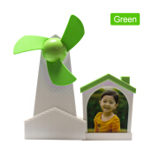 Fashion Multifunction 3 in 1 USB Fan Windmills Mini USB fan with photo frame & pen holder