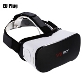 VR SKY CX - V3 All-in-one 3D Headset Virtual Reality Glasses 1080P 100 Degree FOV with Touch Pad TF Card Slot EU PLUG