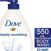 DOVE Body Wash Deeply Nourishing 550ml