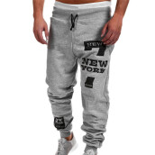 BESSKY Mens Fashion Trousers Men Pants Casual Pants Sweatpants_