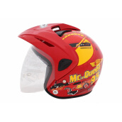 WTO Helmet Kids Pet McQueen - Red - M