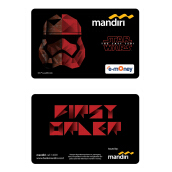 MANDIRI E-Money Star Wars: The Last Jedi - Stormtrooper