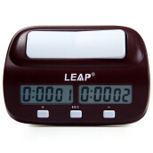 New LEAP PQ9907S Digital Chess Clock I-go Count Up Down Timer for Game Competition