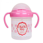 (DISCONTINUE) CHUCHU Straw Mug 200 ml Girls