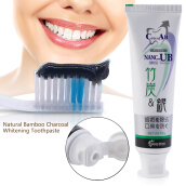 Natural Bamboo Charcoal Anti-halitosis Remove Smoke Stains Oral Toothpaste