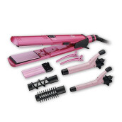 VIDAL SASSOON Pink Series 10in1 Ceramic Multi Styler Plus VS2810PIH