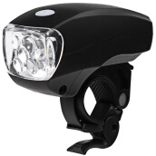 Super Bright Water Resistant 5 LEDs Bike Front Light Lamp 3 Modes