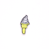 PATCH.INC Yellow Ice Cream 4x3 cm