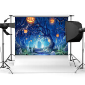 Halloween Vinyl Christmas Background Custom Photography Backdrops Photo Prop