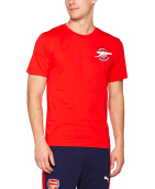 PUMA AFC Graphic Tee - High Risk Red