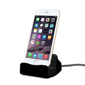 Keymao Charger Dock Stand 2 In 1 Micro USB Desktop Stand Station Cradle Fast Charging For iPhone