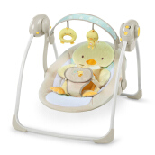 INGENUITY Soothe N Delight Portable Swing - Quacks & Cuddles 10241-3-ES-YW2