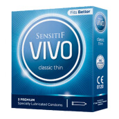 SENSITIF VIVO Kondom Classic Thin 3pcs