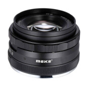 Meike 50mm APS-C F2.0 for Fujifilm Mirrorless Lensa Kamera Black