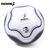 REGAIL Size 5 PU Flower Shape Training Soccer Ball Football