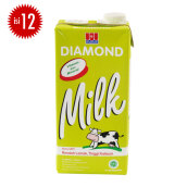 DIAMOND Milk UHT Low Fat High Calcium Carton 1l x 12pcs
