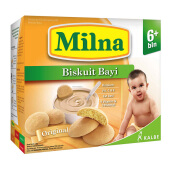 MILNA 6+ Biskuit Bayi Original Box - 130gr
