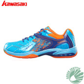 Genuine K-335 Series Kawasaki Breathable Badminton Shoes For Men And Women Anti-Slippery Outdoor Sport Lovers Sneaker