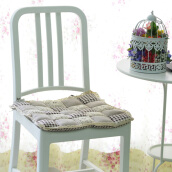 VINTAGE STORY Shabby ChairPad Light Grey