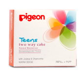 PIGEON Refill Two Way Cake Warm Beige 14gr