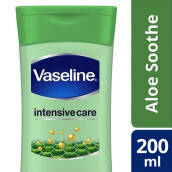 VASELINE Intensive Care Aloe Soothe Hand & Body Lotion 200ml