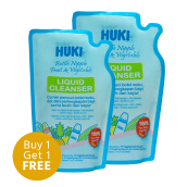 BABY HUKI Lc - Liquid Cleanser Pouch 450 ml (1 Order = 2 Pcs)