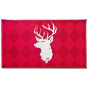 ARTSYs Keset Anti Slip Xmas Edition NEW 40x70 cm - Head Deer Red Others