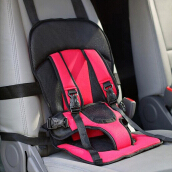 Child Multi-functional Portable Car Safety Harness Pad Seat Cover Cushion