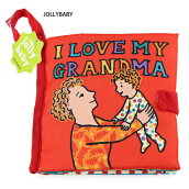 JOLLYBABY 10 Pages Funny Cartoon Animal Character Educational Cloth Book-GRANDMA