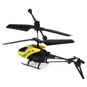 Mini RC 901 Helicopter Shatter Resistant 2.5CH Flight Toys (Random Color)