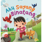 Scb: Aku Sayang Binatang (Board Book)-New - Triani Retno A. 9786024203221