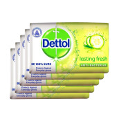 DETTOL Bar Soap Lasting Fresh (5x105gr)