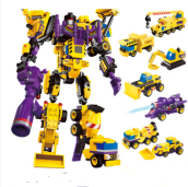 ENLIGHTEN D13 Toy Transformers Compatible with LEGO blocks for 6 years old kid 506pcs blocks