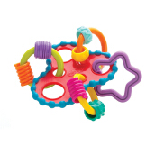 PLAYGRO Round About Activity Rattle - 1 Pack