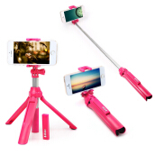 Wireless Bluetooth 4.0 Selfie Monopod with Tripod Adjustable