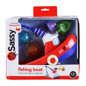 SASSY Fishing Boat - Red