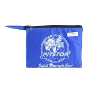 PITSTOP Stylish Motorcycle Cover - Blue