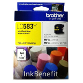 BROTHER LC-583 ink - Yellow