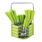 NAKAMI Stainless Steel Cutlery 25pcs - Green