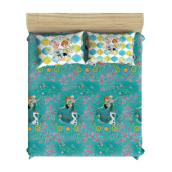 PILLOW PEOPLE Bed Sheet Set - Frozen Green Sister / 180x200cm