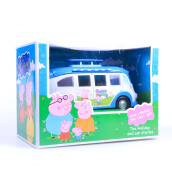 ABCD Peppa Pig Blue Camping Car Toy Set MPP013