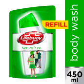 LIFEBUOY Body Wash Nature Pure Refill 450ml